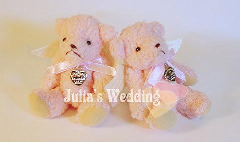 姐妹禮之一的粉紅小熊