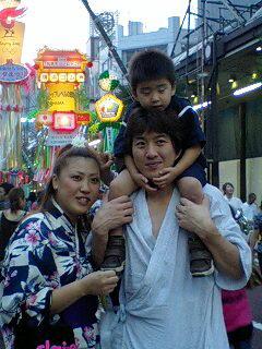 小林さんの姉さん一家!最高に幸せ~~