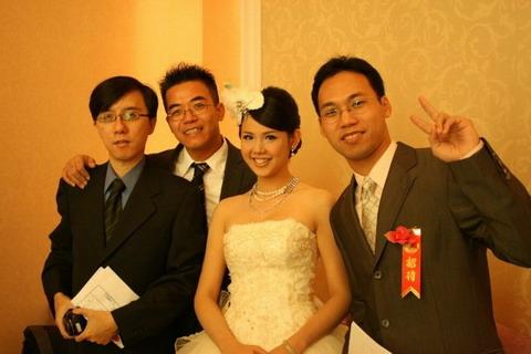 幸福的花嫁Mindy!