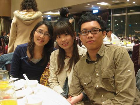 Tina、Yuga&彼女