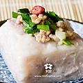 20120423 手作芋香粿 (3)