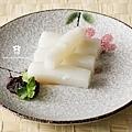 20120709 粉絲點飯_涼米粿佐辣醬