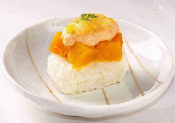 20121222 南瓜明太子飯