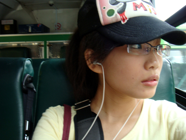 一個人搭公車