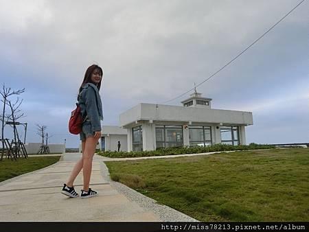 台北北海岸新景點○極北藍點 希臘風格白色建築配上無敵海景 美翻了!!去北海岸又多了新景點可以衝了啦!