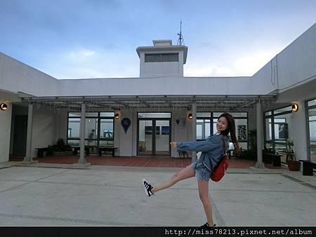 CIMG2012台北北海岸新景點○極北藍點 希臘風格白色建築配上無敵海景 美翻了!!去北海岸又多了新景點可以衝了啦!