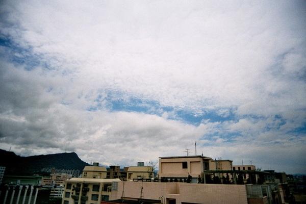 雲很漂亮呢