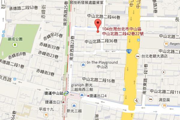 002-玫瑰緣台北map