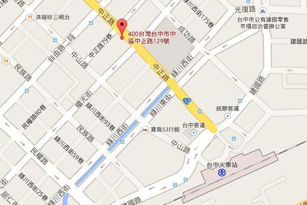002-玫瑰緣台中map