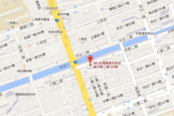 002-玫瑰緣高雄map