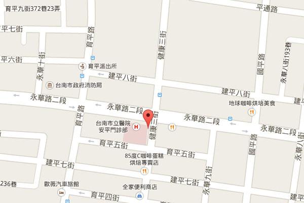 004-梵谷台南map
