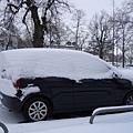 慕尼黑的冰凍車
