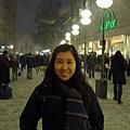 下大雪的慕尼黑