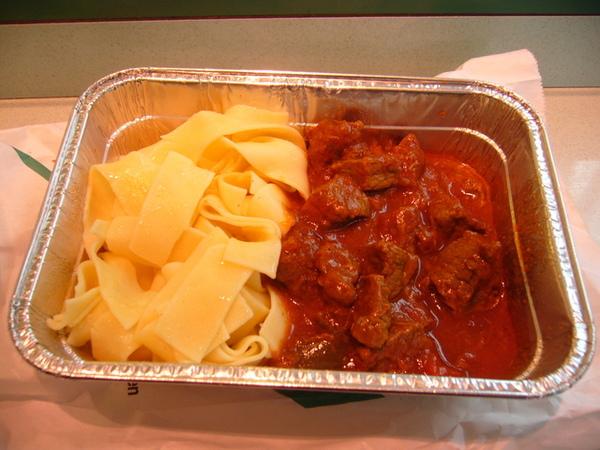 好吃的午餐-牛肉配麵