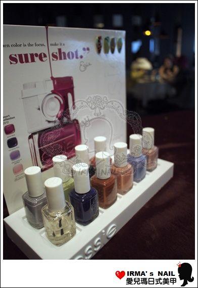 這次服務所使用的是美國知名品牌ESSIE的指甲油