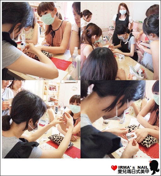 水晶指甲進階課花絮Acrylic nail seminar(26th.May.2012)(3)