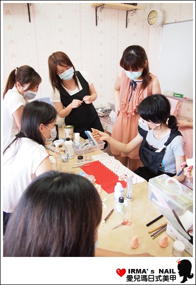 水晶指甲進階課花絮Acrylic nail seminar(26th.May.2012)(5)