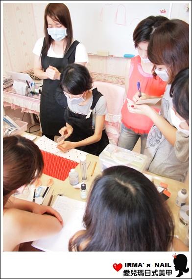 水晶指甲進階課花絮Acrylic nail seminar(26th.May.2012)(7)