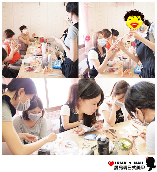 水晶指甲進階課花絮Acrylic nail seminar(26th.May.2012)(11)