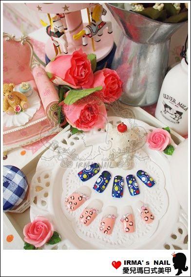 學生甲片作品student's nail tips works-May.30.2012(3)