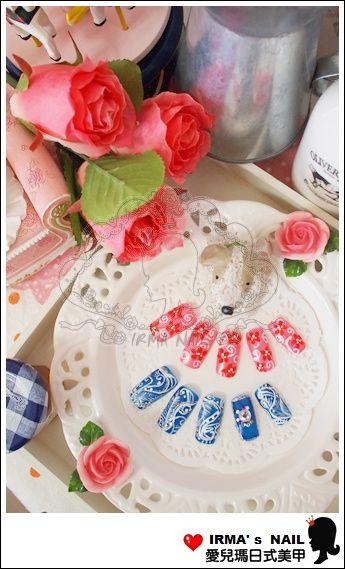 學生甲片作品student's nail tips works-May.30.2012(8)