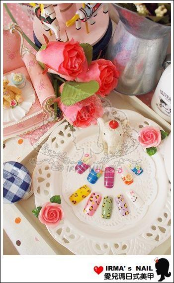 學生甲片作品student's nail tips works-May.30.2012(14)