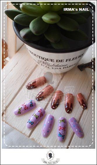 愛兒瑪日式美甲店內作品Works by manicurist in Irma nail salon Aug.2012(11)