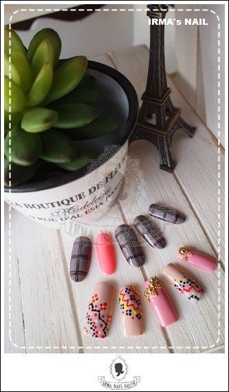 愛兒瑪日式美甲店內作品Works by manicurist in Irma nail salon Aug.2012(13)