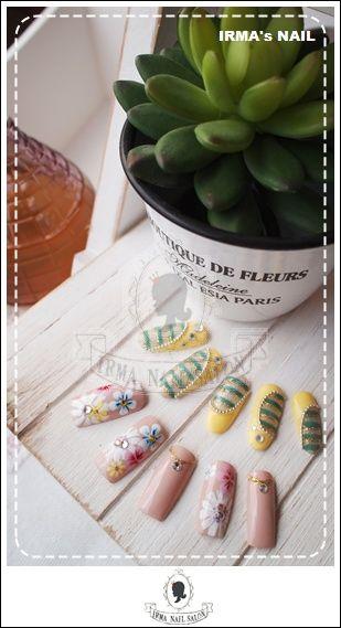 愛兒瑪日式美甲店內作品Works by manicurist in Irma nail salon Aug.2012(16)