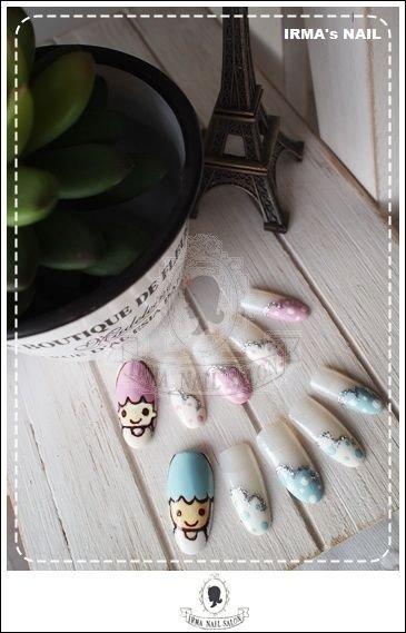 愛兒瑪日式美甲店內作品Works by manicurist in Irma nail salon Aug.2012(19)