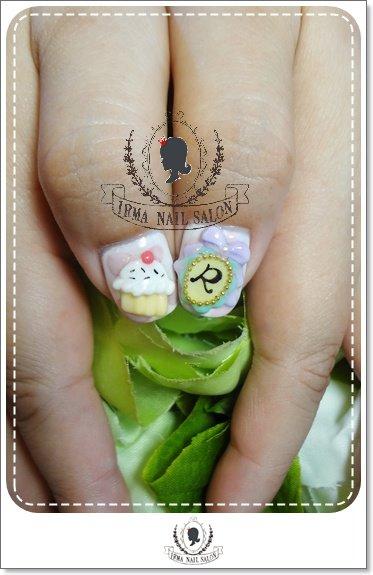 11月光療凝膠指甲Gel nail Nov.(9)