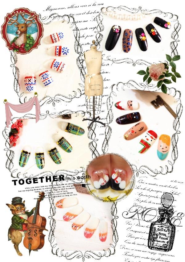 12月份作品展示Nail works Dec.(2)