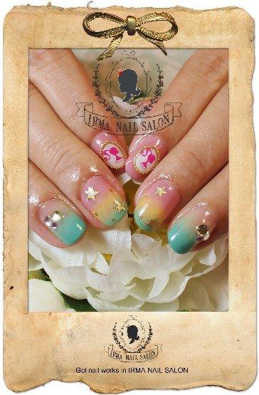 2月光療凝膠指甲Gel nail Feb.(1)