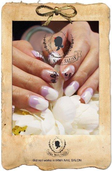 2月光療凝膠指甲Gel nail Feb.(3)