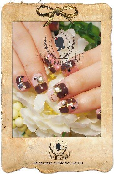 2月光療凝膠指甲Gel nail Feb.(6)
