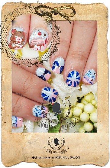 2月光療凝膠指甲Gel nail Feb.(5)