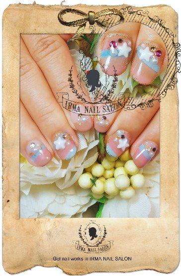 2月光療凝膠指甲Gel nail Feb.(7)
