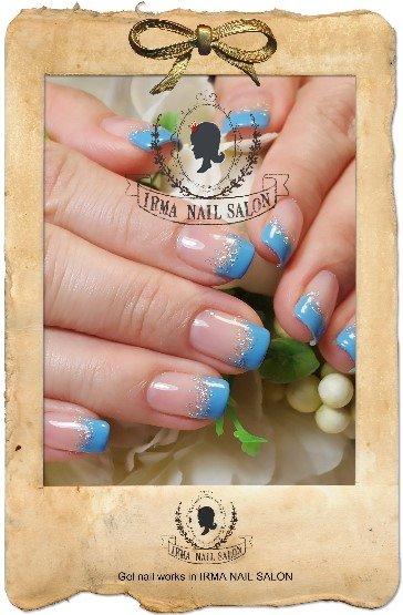 2月光療凝膠指甲Gel nail Feb.(9)