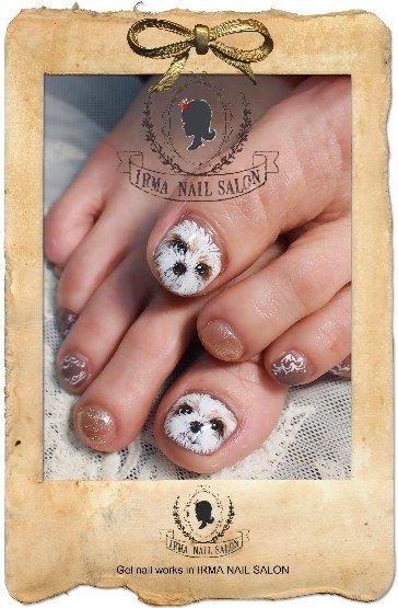 3月光療凝膠指甲Gel nail Mar.(1)
