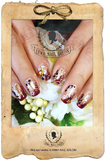 3月光療凝膠指甲Gel nail Mar.(9)