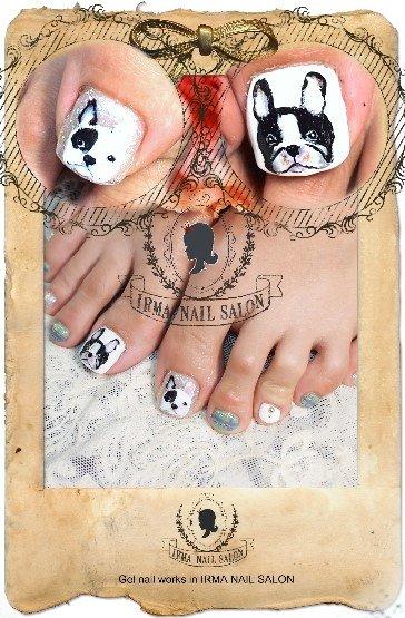 4月光療凝膠指甲Gel nail Apr.(5)