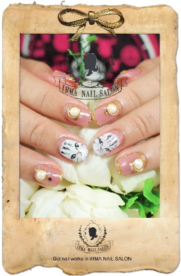 4月光療凝膠指甲Gel nail Apr.(1)