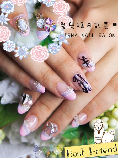 7月光療凝膠指甲Gel nail July.(1).jpg