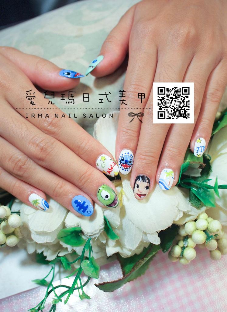 103年9月光療凝膠指甲Gel nail Sep.(1).jpg