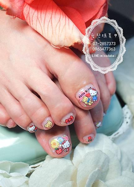 104年10月光療凝膠指甲Gel nail Dec.(9).jpg