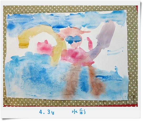 4.3y 水彩 (4)~來游泳