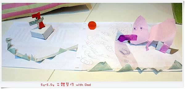 5y~5.5y 立體勞作 with Dad