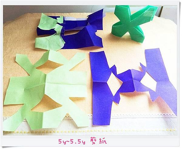5y~5.5y 剪紙