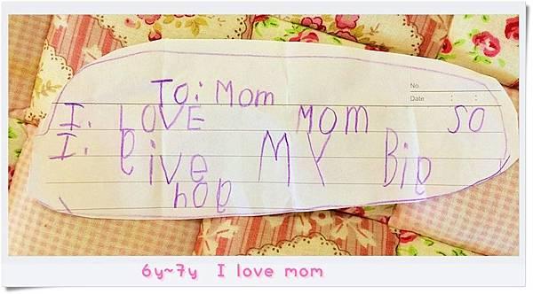 6y~7y I love mom