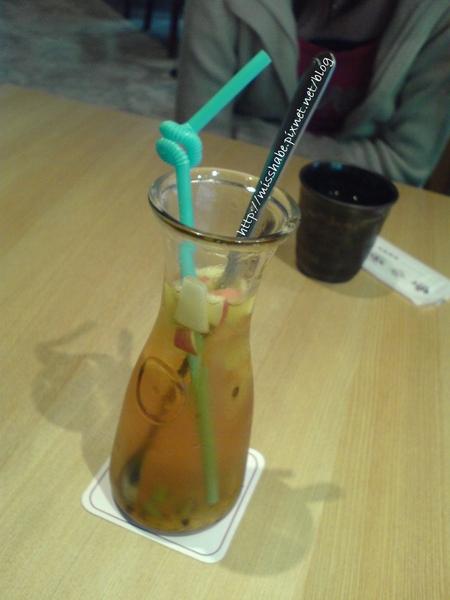 百香果水果茶,好喝,酸酸甜甜!